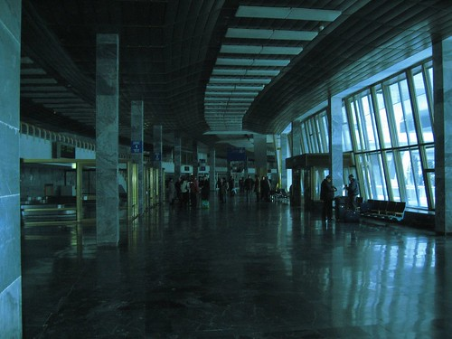 Аэропорт в 11 часов дня