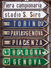 Where am I? (eneko123) Tags: city italien cidade urban italy signs milan sign canon torino lost eos 350d italian europa europe italia euro milano streetsign ciudad 2006 direction where genova stadt bologna ita kit 1855 06 lombardia piacenza efs italie ville itlia perdido citt italiano italiana fiera siro stadio miln lombardy pavia eneko eneko123 mailand direccin gfl hiri zeinu lombarda lonbardia campionaria galduta norabide norantza zeinale