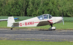 "G-BANU Jodel D.120 Sturgate  EGCV Fly In 07-06-15 (PlanecrazyUK) Tags: ""fly in"" sturgate gbanu 070615 jodeld120 egcv"