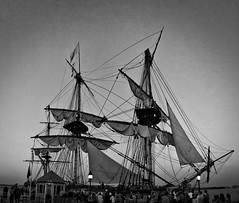 Hermione at dockside in Alexandria (JimWalker Photo) Tags: panorama maritime hermione oceansailing alexandria2015