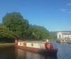 Turning the narrowboat, Apperley Bridge, Bradford UK (paul_a_mckendrick) Tags: water canal bradford yorkshire barge narrowboat leedsliverpoolcanal