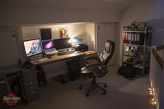 Office (Bridge Computers) Tags: apple office geek den workspace commandcenter lifehacker mancave macbookpro