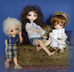 Dollzone tinies (wiggies2luv) Tags: ginger heather bjd thyme yosd dollzone