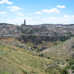 "View of Matera from the North <a style=""margin-left:10px; font-size:0.8em;"" href=""http://www.flickr.com/photos/14315427@N00/19162284758/"" target=""_blank"">@flickr</a>"