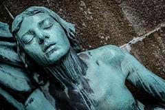 The Mourners of August Rhss (iconara.) Tags: statue bronze se sweden gothenburg mausoleum bronzestatue helios442 vstragtalandsln xe2 rhss