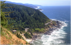 View From Cape Perpetua (ScottElliottSmithson) Tags: ocean wild seascape beach nature oregon canon spectacular landscape eos waves view northwest or scenic nationalforest pacificocean 7d pacificnorthwest oregoncoast yachats capeperpetua siuslawnationalforest siuslaw eos7d dtwpuck scottsmithson scottelliottsmithson