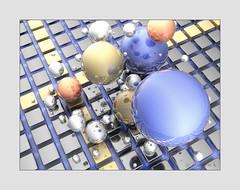 ball composition #1 (koliru) Tags: max art computer 3d cg model modeling 3ds
