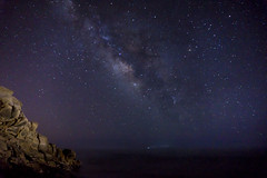 Milky way seen from the beach (nathanrcast) Tags: longexposure way stars milky