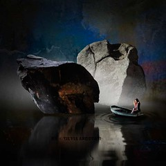 Towards the stream (Silvia Andreasi (Images Beyond Mirror)) Tags: silviaandreasi imagesbeyondmirror surreal river water reflection boat woman stonewall dark imagination fineartphotography photomanipulation fog misty confusion indecision digitalart symbolism conceptualphotography artpal squareformat dreamscape surrealism forgotten ethereal whimsy mystical mystic fantasy whimsical cave awarded scyllaandcharybdis