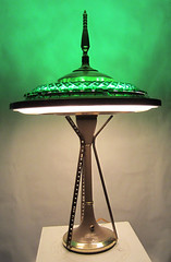 needlelight221 (pat-works.com) Tags: lamp olympia pat tassoni patworks patworkscom portland ray gun recycled parts seattle space needle ufo upcycled atomic radioactive midcentury retro rocket tv jetsons