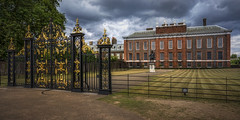Kensington Palace (emptyseas) Tags: uk london gardens clouds dark chelsea sony royal palace borough kensington emptyseas nex7