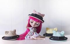 Cat Ear Bowler Hat ♥