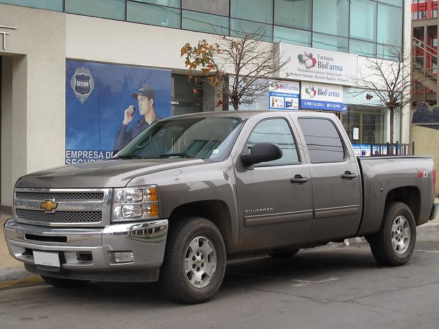chevrolet pickup v8 lt 2012 camionetas crewcab silveradoz71