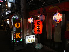 It's OK (CentipedeCarpet) Tags: japan panasonic gx8 micro four thirds tokyo night lights lanterns glow city dark 東京 赤羽 日本 夜 夜景 提灯 akabane beautiful worn old urbex urban unlimited photos