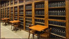 A new library ? (Armelle85) Tags: intérieur cave bouteille île madère fünchal chais