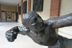 Hercules the Archer @ Muse Bourdelle @ Montparnasse @ Paris (*_*) Tags: paris montparnasse france europe earth city december autumn fall 2016 musebourdelle bourdelle museum art sculpture antoinebourdelle hercules bronze