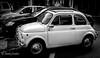 Fiat (JKmedia) Tags: motor car fiat old retro blackandwhite spain bw boultonphotography 2016 canoneos7dmkii 15challengeswinner