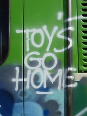 Toys go home (duncan) Tags: traingraffiti ljubljana train graffiti graffitiwisdom toys