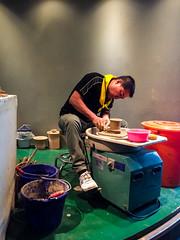 Pottery-making (roamingtummy) Tags: taichung taichungcity taiwan tw theroamingtummy nationalmuseumofnaturalscience travel museum