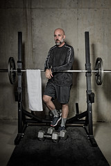 Self Portrait.jpg (Chatterstone Photography) Tags: self gym selfportrait weights grant