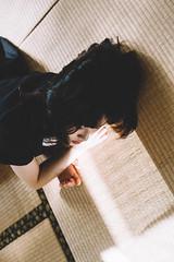 DSC_2443 (Ivan KT) Tags: art photography conceptual exhibition taiwan lotus girl woman light shadow sight portrait backlighting room