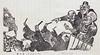 漫画学校, or, Manga Gakkō, Sample (sjrankin) Tags: 25january2017 edited library nationaldietlibrary book illustration manga japan japanese japaneseart 漫画学校 political editorialcartoon c1930s
