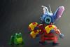 Stitch: Abomination (Legohaulic) Tags: lego stitch disney lilo alien experiment 626 abomination dog