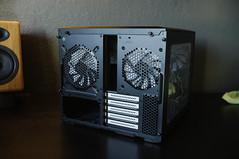 DSCF3818 (alberthuynhphoto) Tags: pc computer sandisk nvidia geforce 1070 1080 gtx video card fractal design node 804 asus rog das keyboard intel gigabyte cryorig aio evga 750w g2 nzxt rgb lighting custom gaming