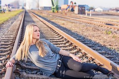 Stefanie (MK Photography AB) Tags: people outdoor portrait frau woman mkphotography