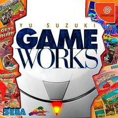 gameworks cover (scir 91) Tags: sega dreamcast yu suzuki gameworks disc volume 1 outrun after burner ii power drift space harrier