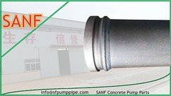 Boom Pipes For Pm (SANF Concrete Pump Pipes Parts) Tags: boom pipes for pm