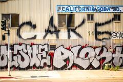 Let Them Eat Cake (Thomas Hawk) Tags: america california californiasodacompany eastbay oakland usa unitedstates unitedstatesofamerica westcoast westoakland cake graffiti fav10