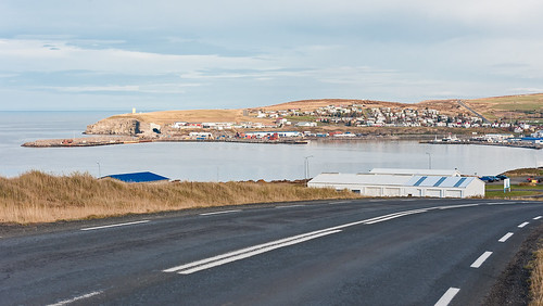 Iceland - Harbour of Húsavik, Iceland's whale watching capital
