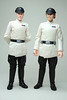 Colonel Yularen and Imperial Security Bureau Officer (Neil Alker) Tags: starwars staralien70 imperial officer empire customised deathstar yularen