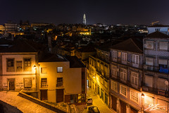 Brick Moon (Tim van Zundert) Tags: hdr porto portugal clerigos tower church neighbourhood street urban architecture cityscape city europe night evening long exposure sony a7r voigtlander 21mm ultron