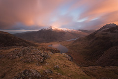 FROM THE KITCHEN WINDOW (LOKKOFOTO) Tags: findyourepic ogwen landscape snowdonia haida canon panorama 10stop clouds cymru wales lake northwales sunrises sun