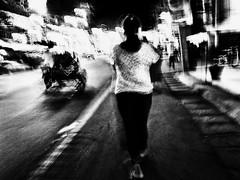 Evening Walk (Meljoe San Diego) Tags: meljoesandiego ricoh ricohgr gr streetphotography street blur motion