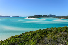 Whitsunday Islands, Australia - Whitehaven Beach (Paradise On Earth) (GlobeTrotter 2000) Tags: queensland australia tropical paradise pristine water clear sea island visit travel tourism airlie beach whiteheaven whitsunday