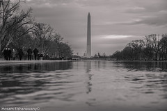 G.Washington Monument (hosam alshanawany) Tags: nikon nikkor nature washingtondc bw d750 dc 2485fx 2485 full frame ff reflection lincoln muniment gw lightroom