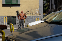 Naples (Maurizio Targhetta) Tags: city man cityscape citylife streetphotography naples fujifilm urbanlandscape