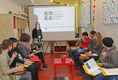 """Warm-up for the Eurovision Lab in the National Museum for Contemporary History in Ljubljana: • <a style=""""font-size:0.8em;"""" href=""""http://www.flickr.com/photos/109442170@N03/18381510295/"""" target=""""_blank"""">View on Flickr</a>"""