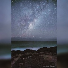 Fingal Starry Skies (Sharna Wilkinson) Tags: nightphotography winter seascape stars landscape nightscapes milkyway nswaustralia starlight longexposures fingalheads