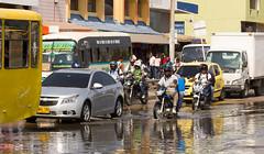Water leak, Cartagena, Colombia (maxunterwegs) Tags: colombia traffic bolvar cartagena verkehr kolumbien colombie cartagenadeindias carthagne carthagnedesindes cartagenadeindiasdistritotursticoycultural cartagenadeindiasdistritotu