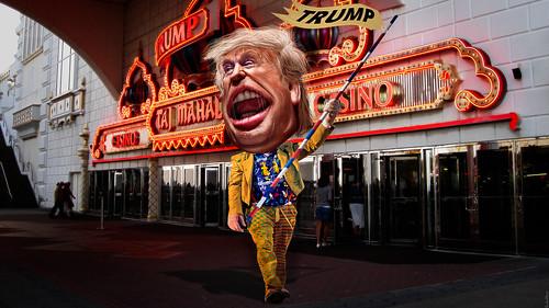 From flickr.com: Donald Trump - Clown {MID-147488}