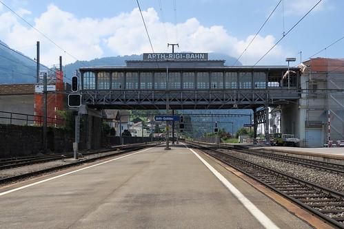 Station Arth-Goldau SBB / Rigi Bahnen
