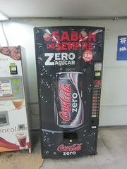 Coca Cola Zero vending machine (Like_the_Grand_Canyon) Tags: travel vacation rio brasil america de soft janeiro drink south beverage brasilien pop soda amerika brayil sdamerika