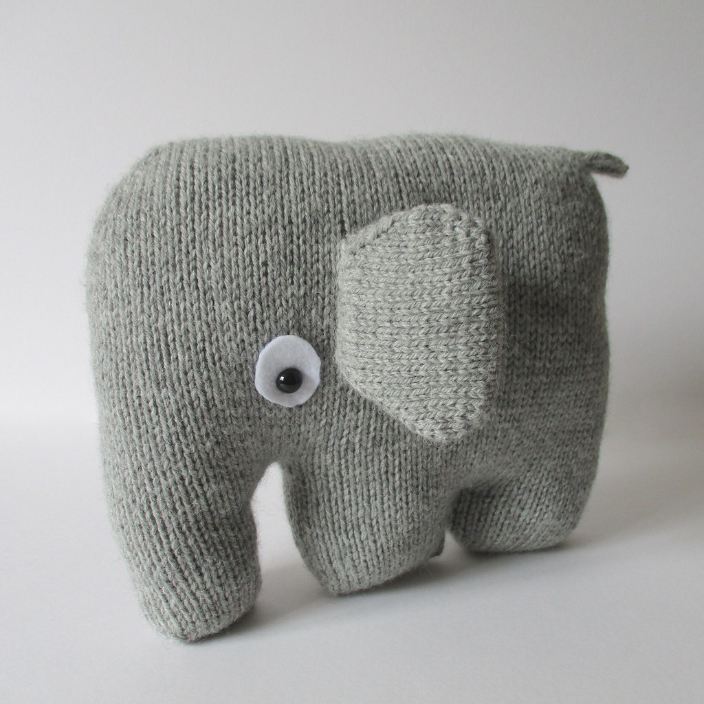 Elephant Teddy Knitting Pattern : The Worlds Best Photos of knitted and softies - Flickr ...