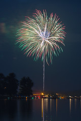 Fireworks over Lake Meade (hjonesphotography) Tags: life longexposure summer sky usa lake news festival america canon fire fireworks pennsylvania july pa event works fourthofjuly canon5d july4th july4 fourth independenceday 70200 meade lakemeade 70200mm canon70200mm summerlife teamcanon 5d3 5dmarkiii 70200mmf28isii
