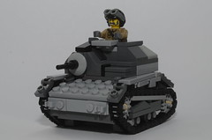 TKS (#YOUNGYEEZUS) Tags: world 2 two brick soldier war tank arms lego military w poland polish ww2 second soldiers tks brickarms brickforge tankette