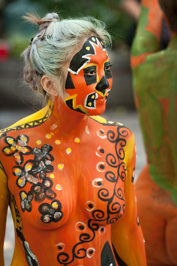 Body Painting Date Nyc